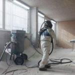 Sand Blasting Lead Paint