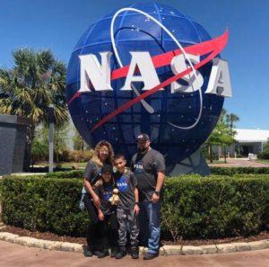 Family At NASA HazPros